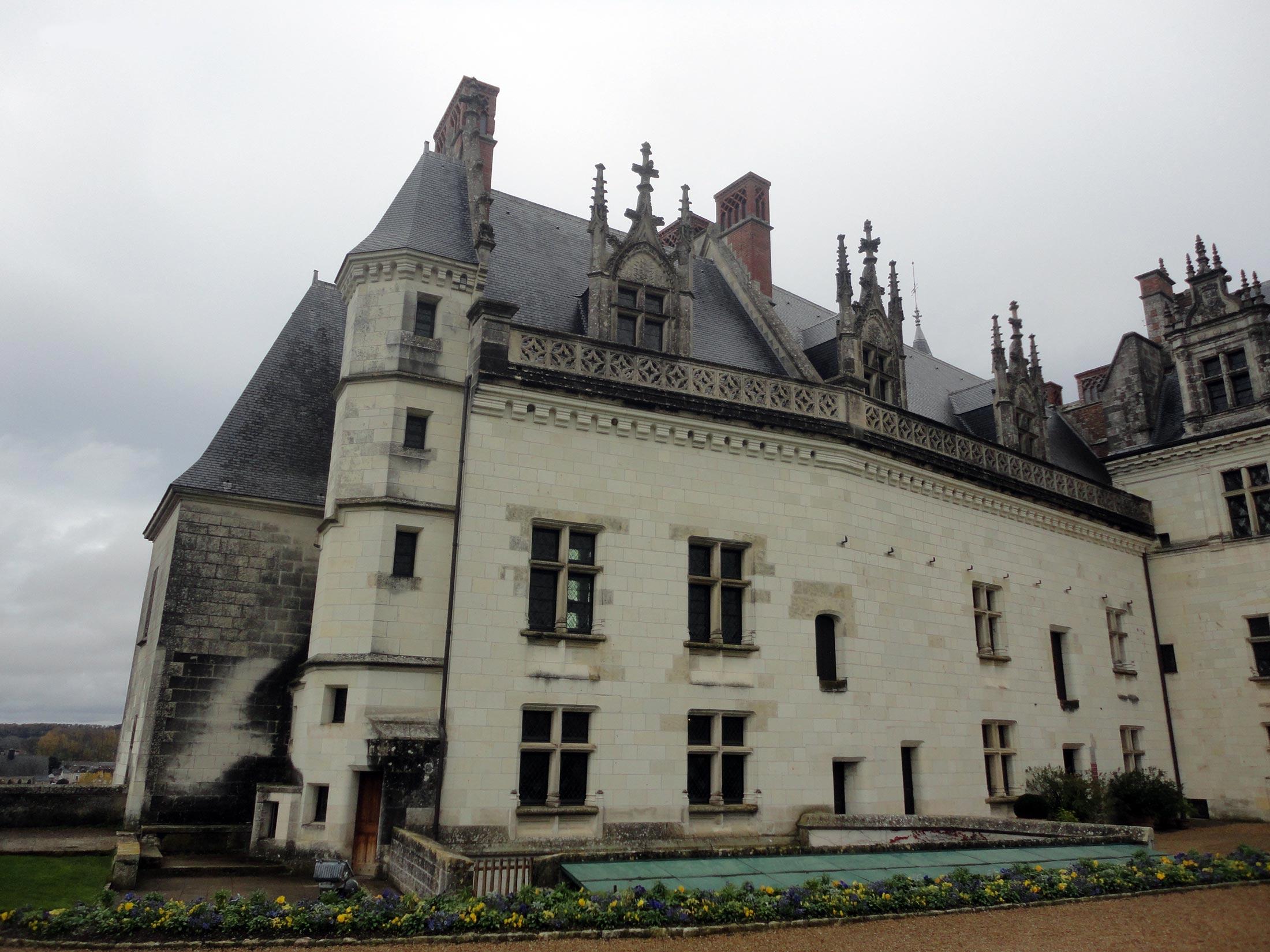 Замок Амбуаз готический дворец, экскурсия