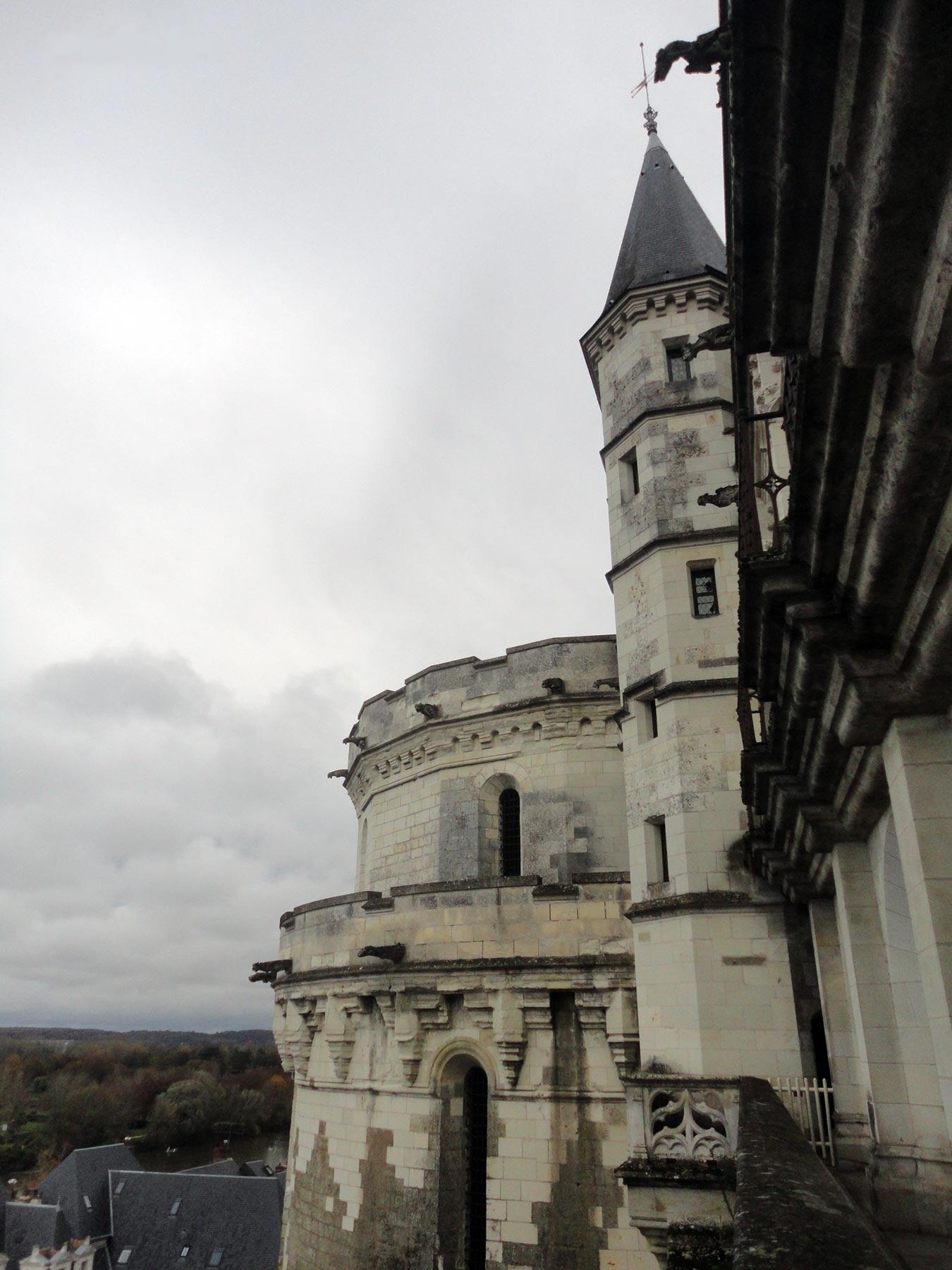 Замок Амбуаз фото минимской башни