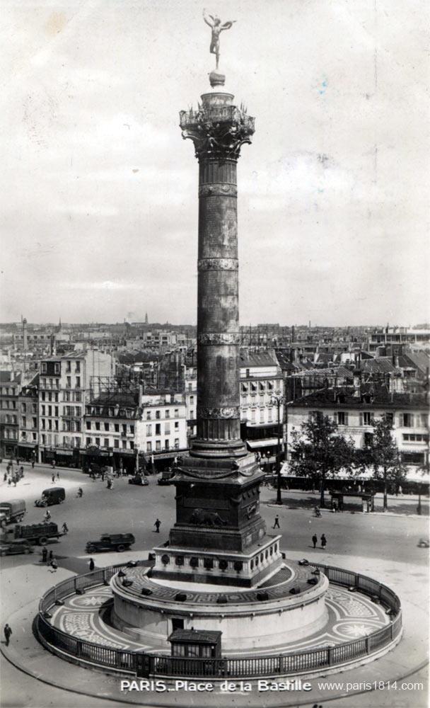 виртуальная экскурсия по Парижу, площадь Бастилии