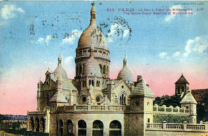 Монмартр сто лет назад