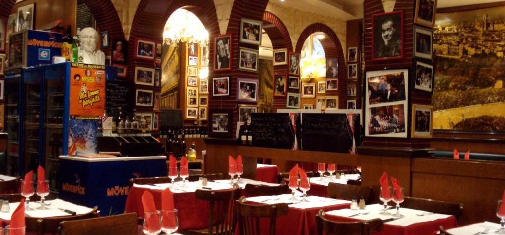 экскурсия по Парижу и рестораны