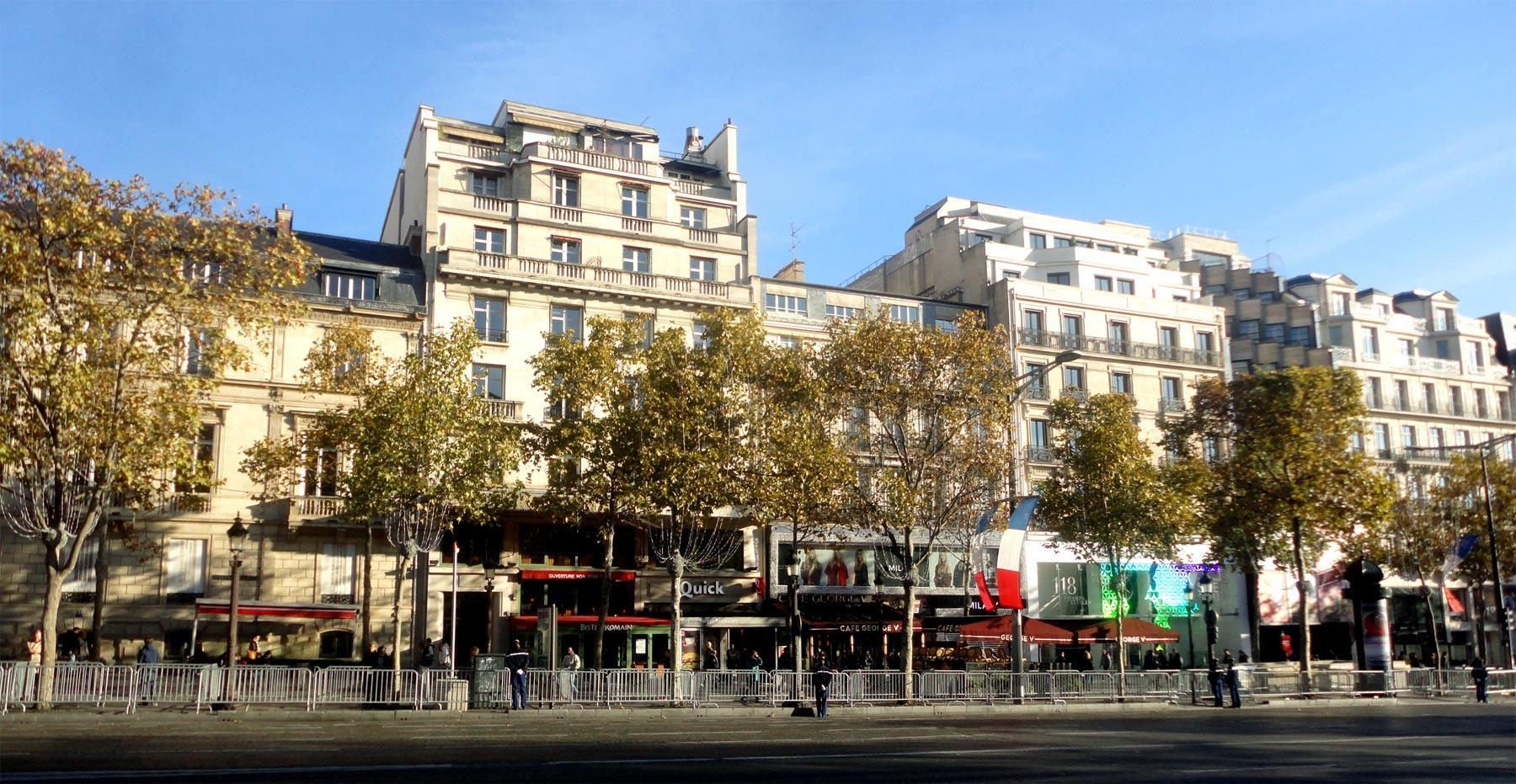 Экскурсия по Парижу - Елисейские поля
