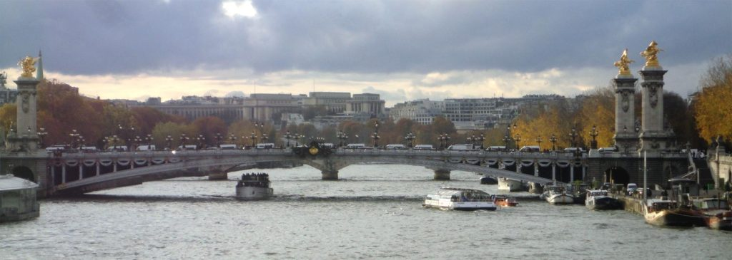 Мост Императора Александра III Париж