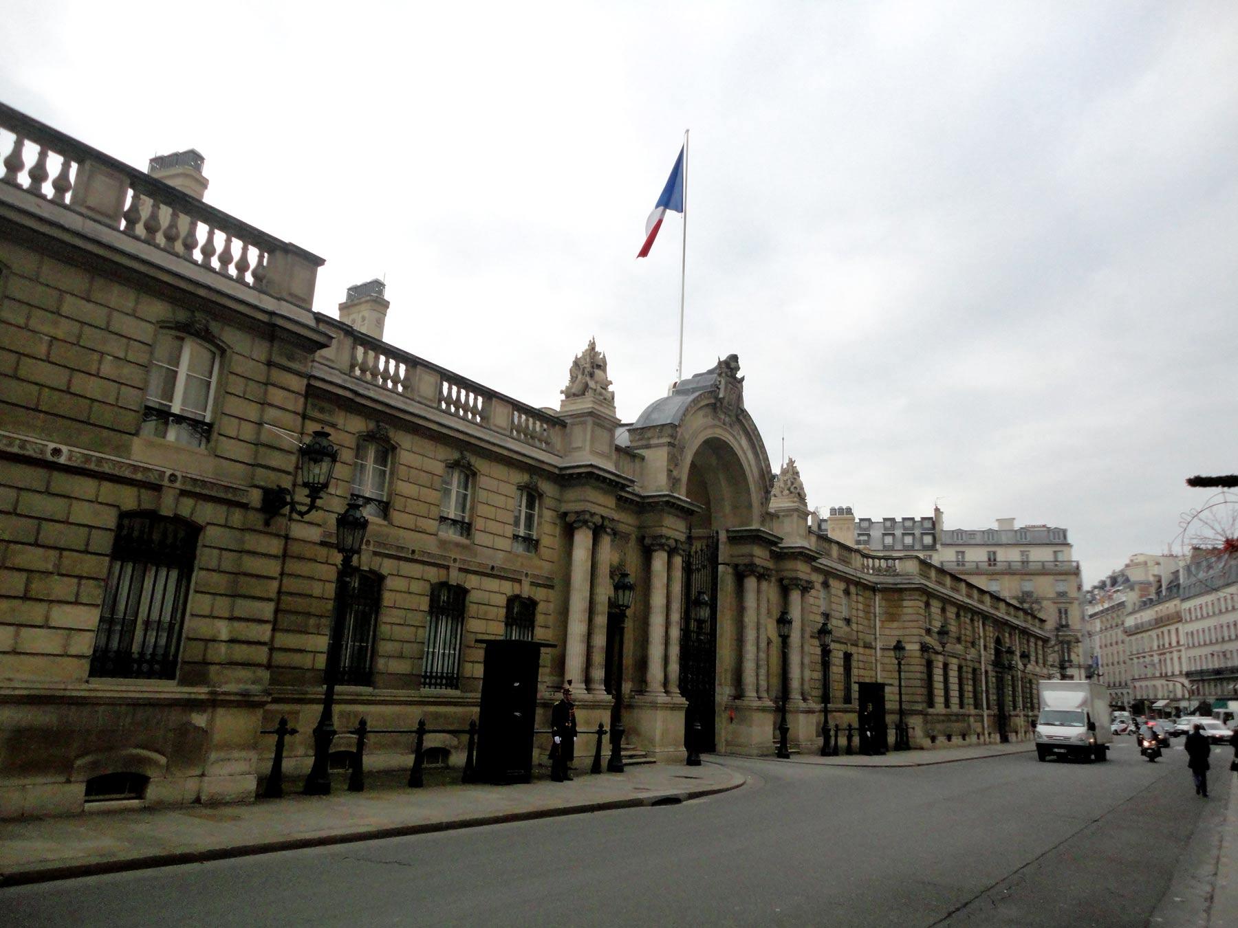 архитектура старого Парижа