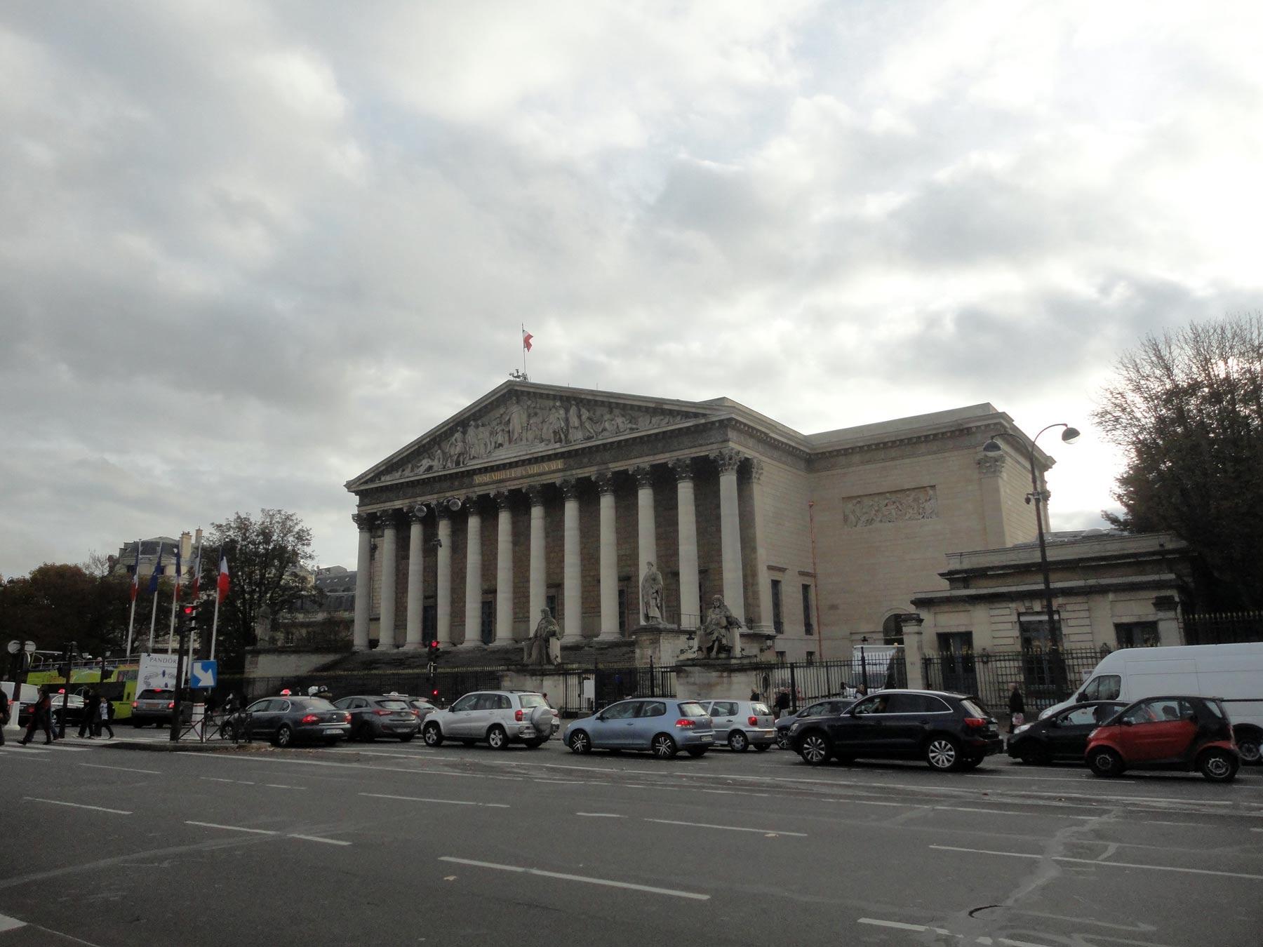 достопримечательности Парижа в центре города