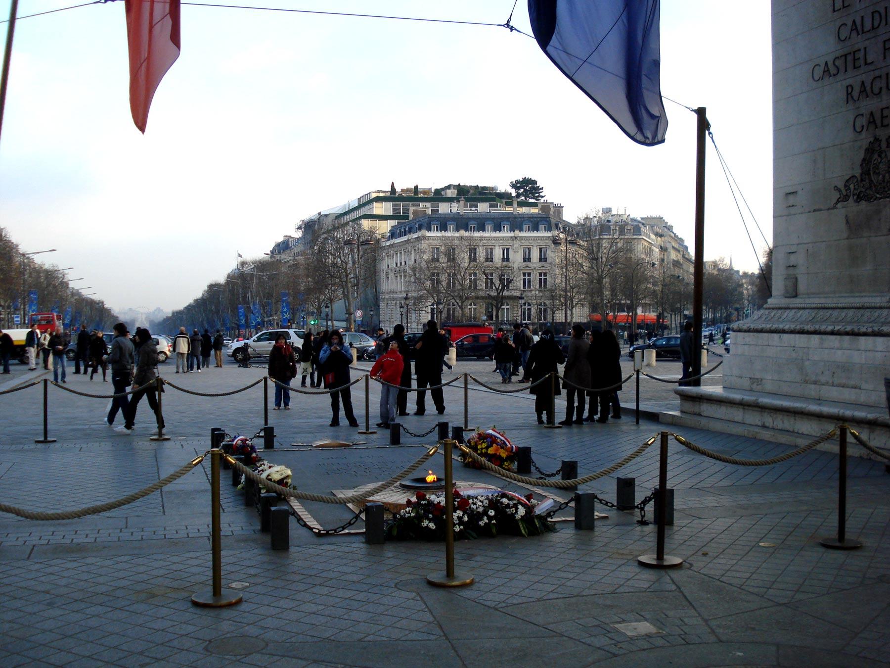 экскурсия по Парижу, Триумфальная арка