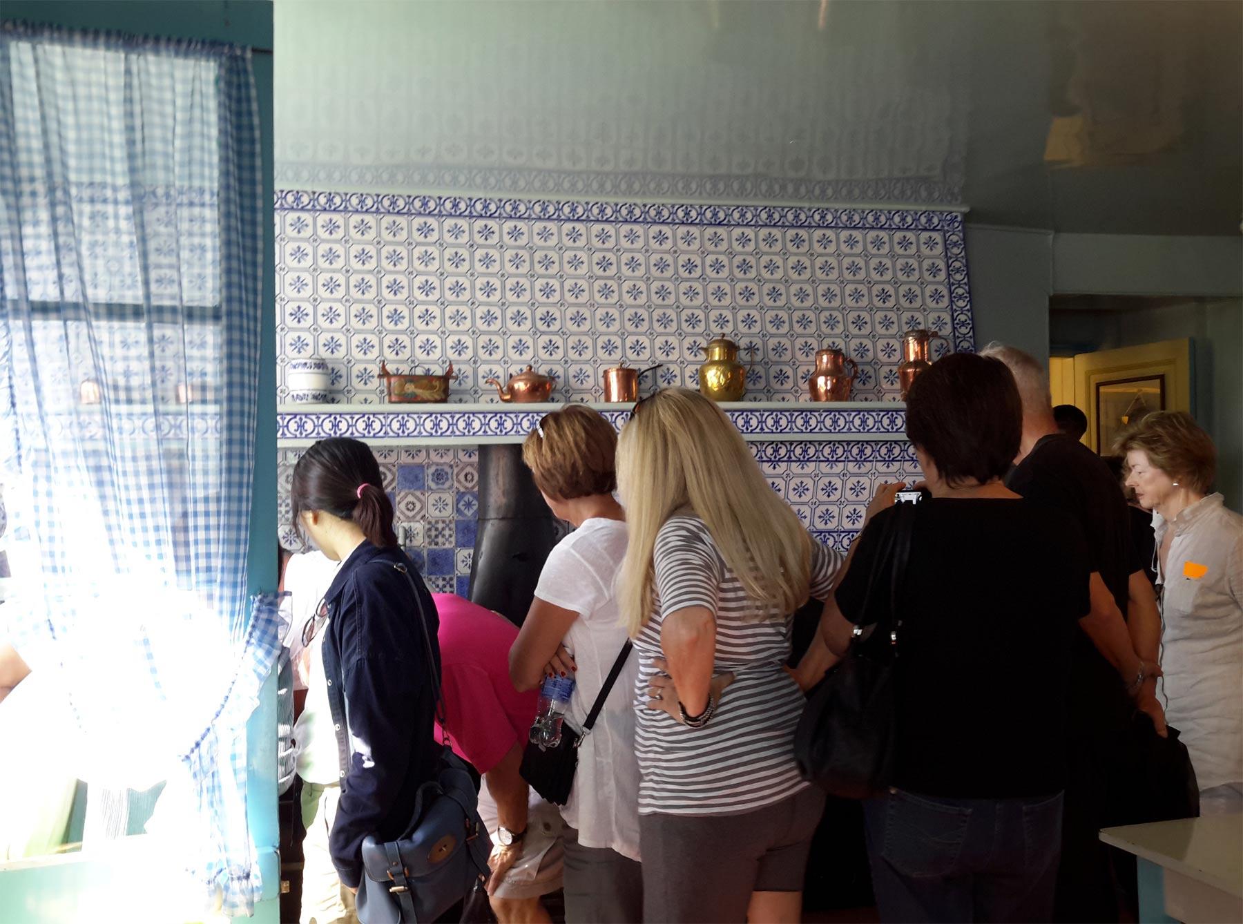экскурсия по кухне Клода Моне