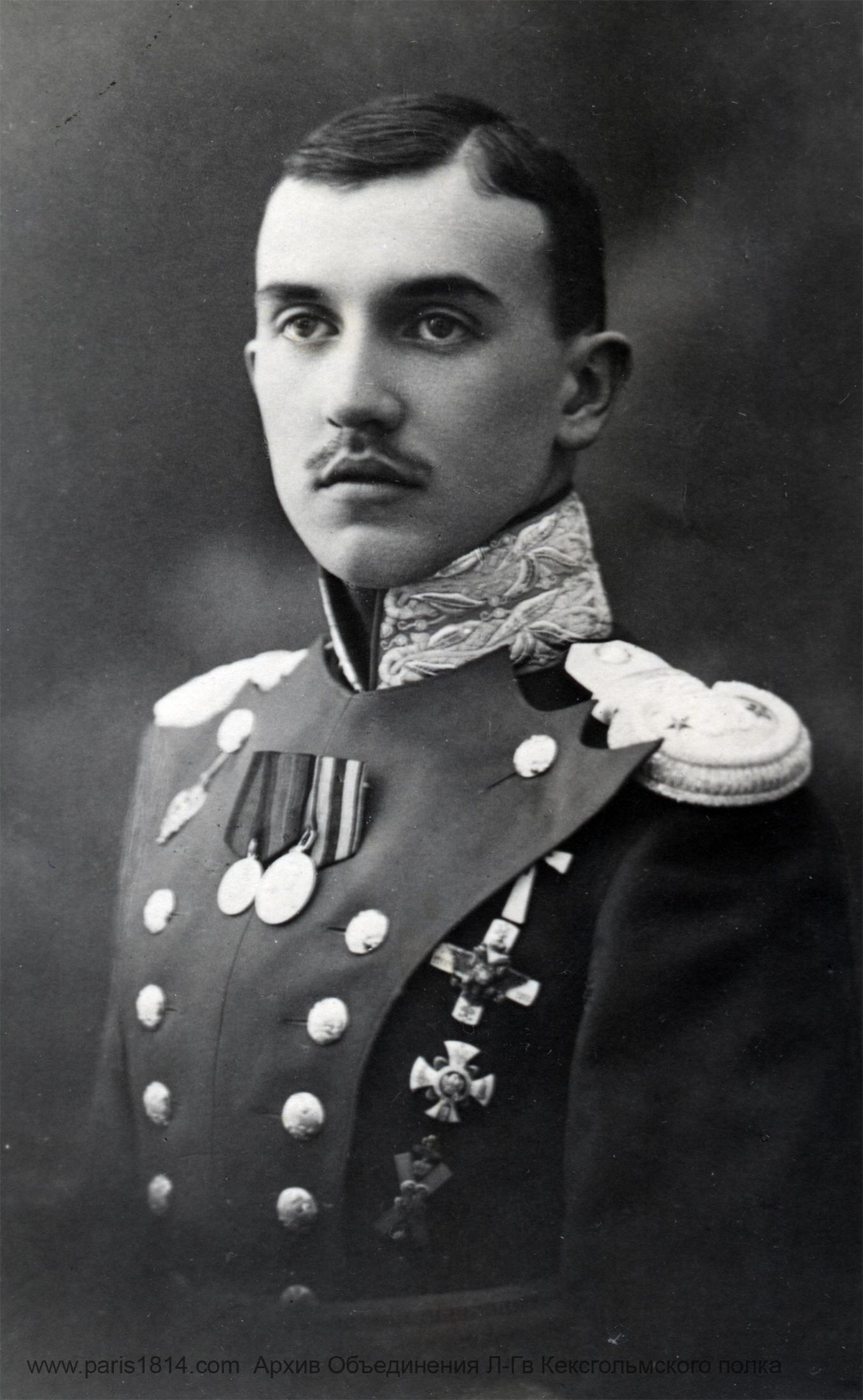 Лейб Гвардии Кексгольмский полк Мирошниченко