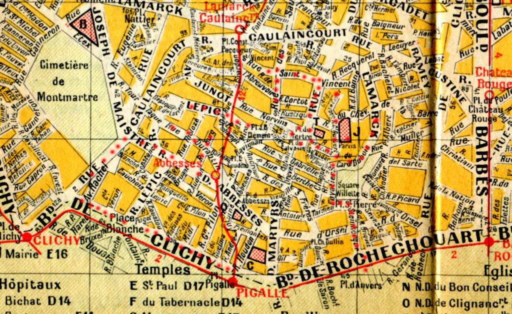 экскурсии по Монмартру в Париже