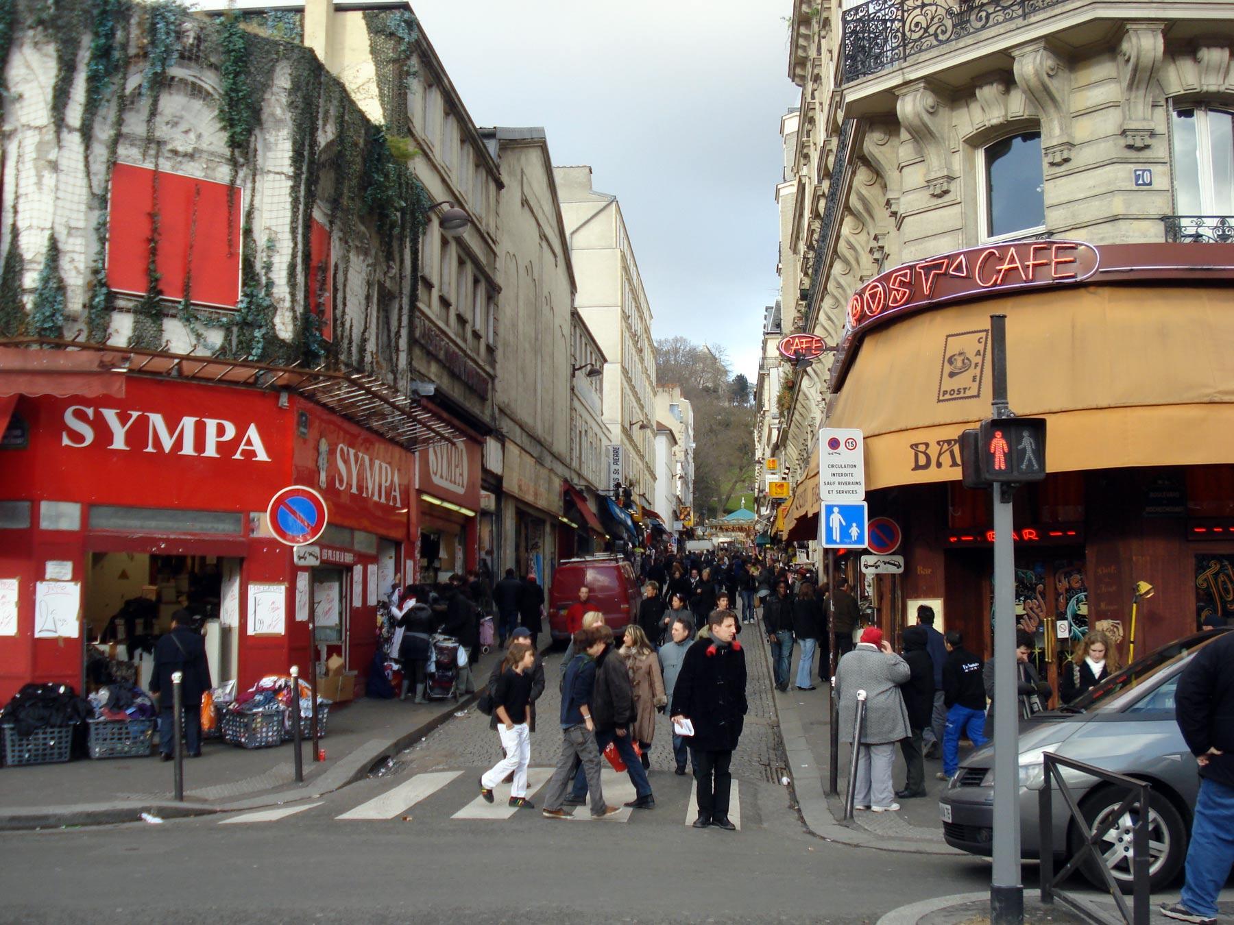 пешеходная экскурсия Монмартр 2008