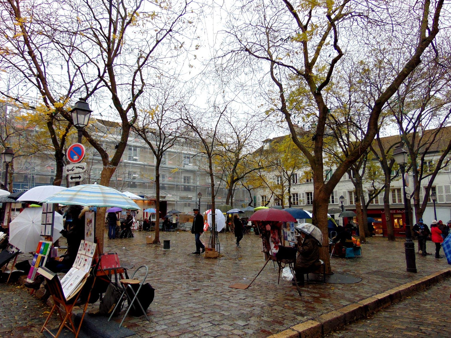 Монмартр в ноябре