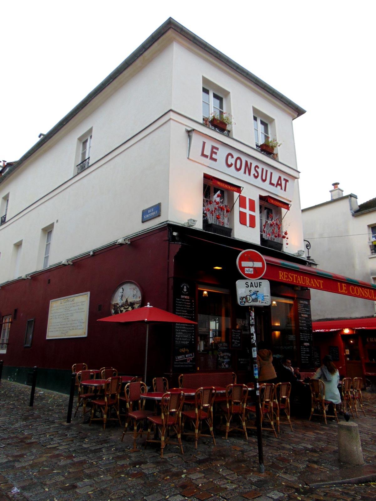 Монмартр, рестораны