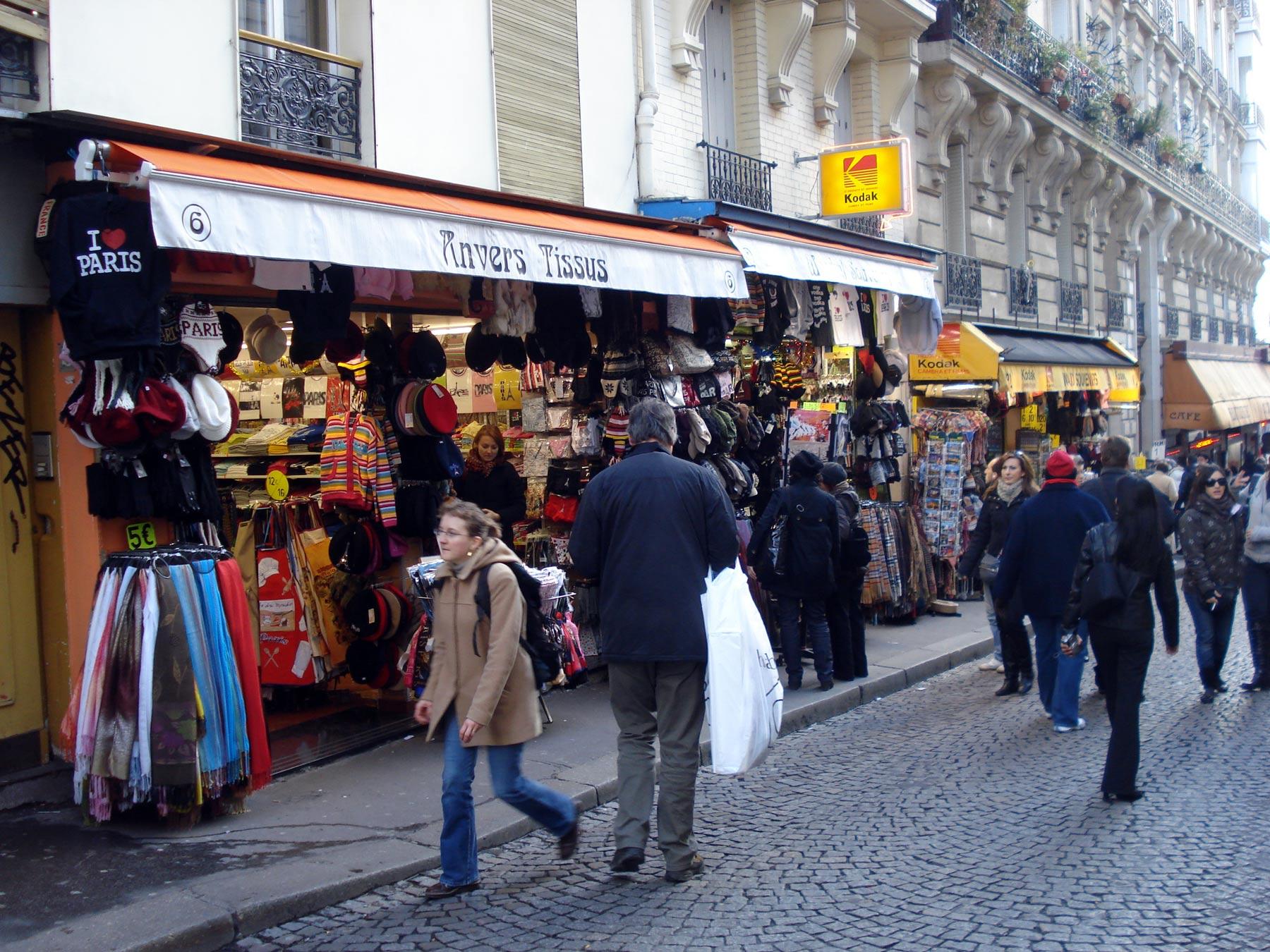все для туристов на Монмартре