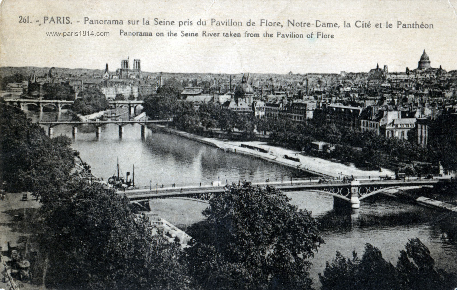 экскурсия по старому Парижу